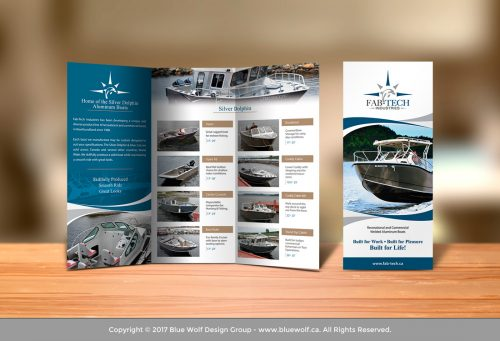 Print media brochure design Newfoundland